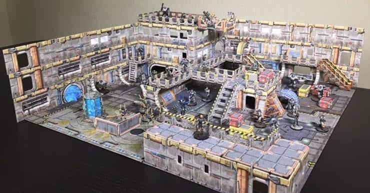 battle systems sci-fi terrain