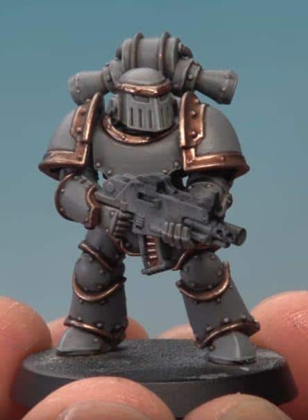 how to paint pre-heresy space wolves