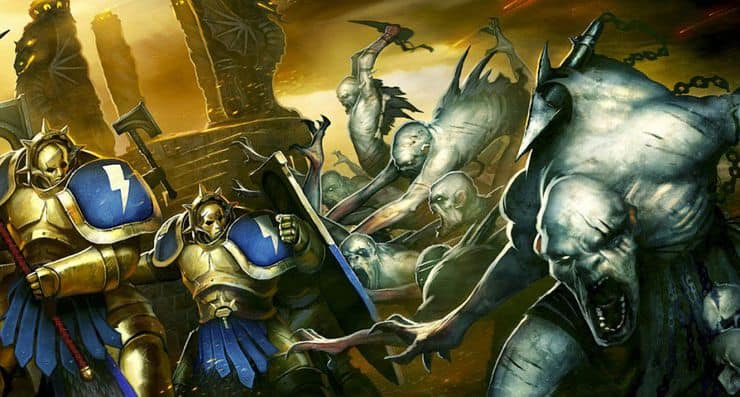 age of sigmar artwork flesheaters courts ghouls stormcast 1