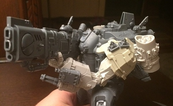 stormsurge with army tau prim battlewalker