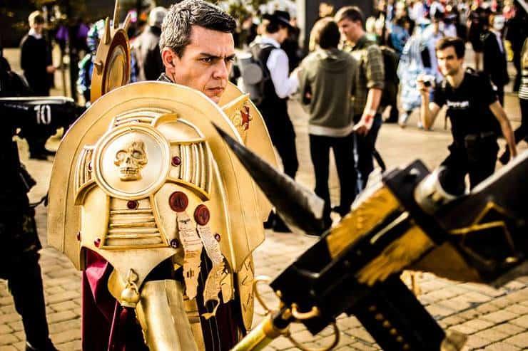 adeptus custodes cosplay guard emperor warhammer 40k