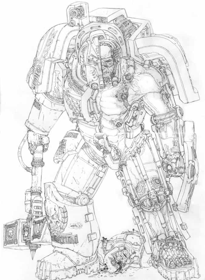 A Look Inside Tactical Dreadnought Armor - Spikey Bits