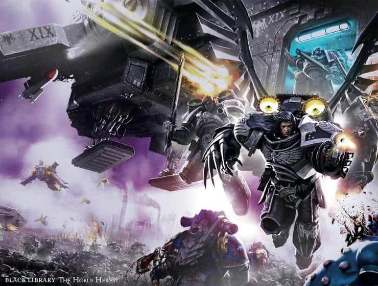 12 New Horus Heresy Art Covers Revealed From Black Library