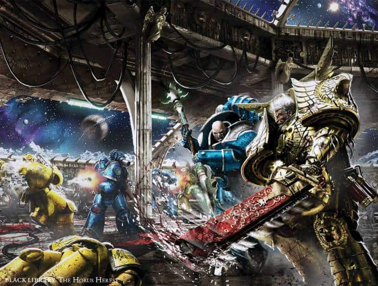 Horus Heresy Book Cover Art : New horus heresy art covers revealed from black library