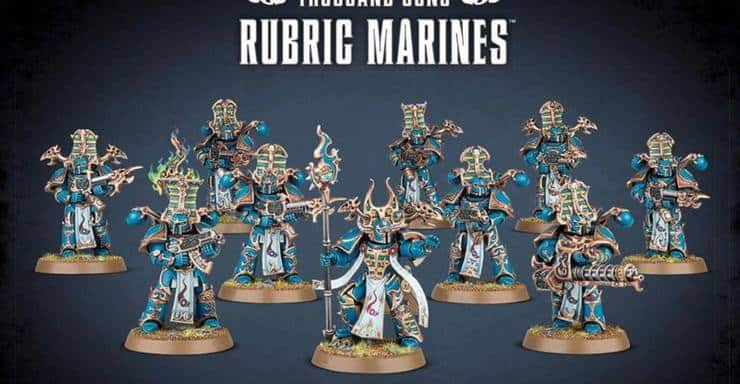 Thousand Sons wrath of magnus