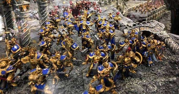 Six Top Warhammer Studio Tables from Games Workshop