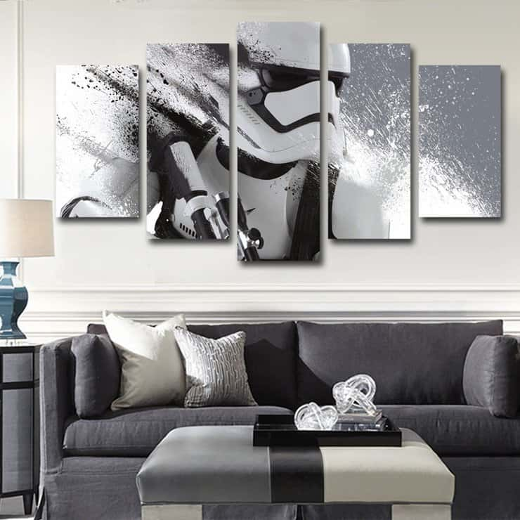 sick star wars canvas prints for your wall spikey bits