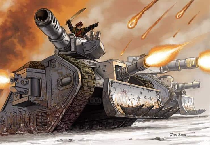 Leman Russ tank drive me closer