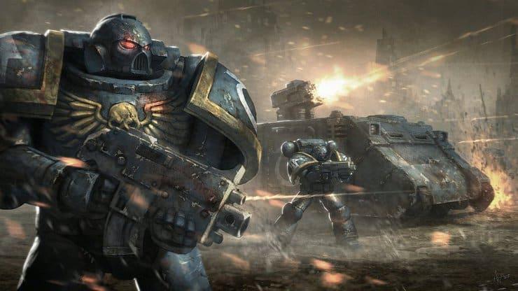 40k assault warhammer space marine