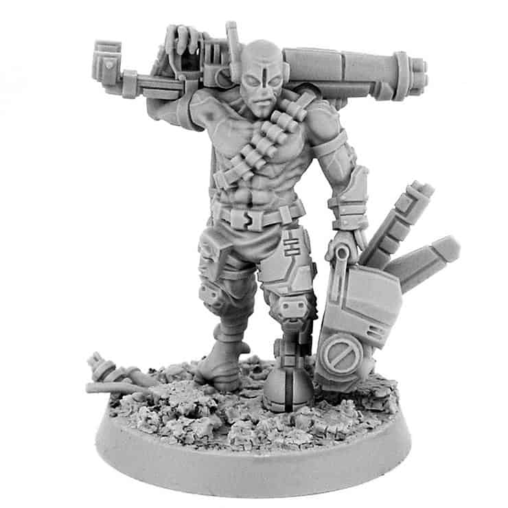 New Spectre Assassin, Tau & More from Grim Skull Minis