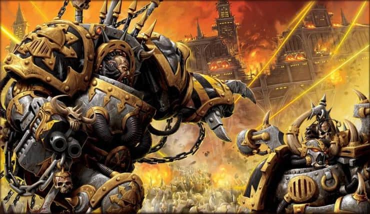 iron warriors wallpaper