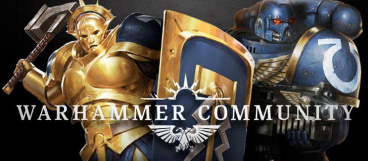 GW Launches Warhammer Community & Unknown Product Teaser - Spikey Bits