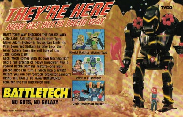 Battletech Ad