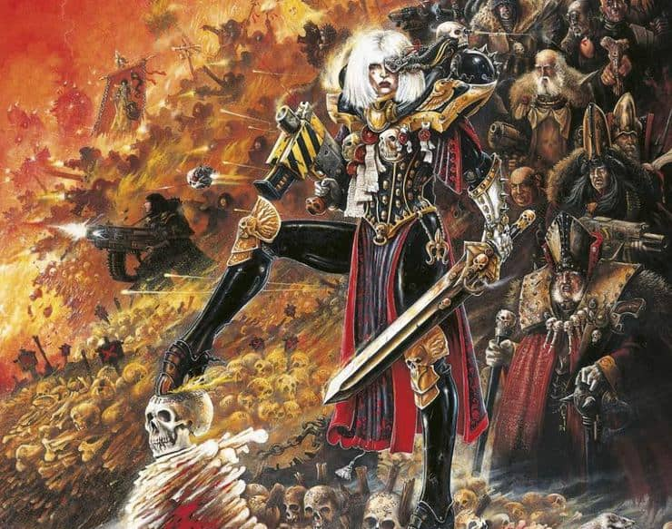 Canoness Veridyan Rules Spotted, & New Sister Codex Hints! - Spikey Bits