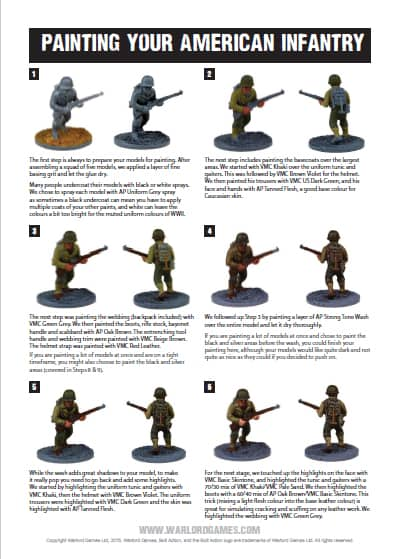 need a new paint scheme? free warlord painting guides - spikey bits