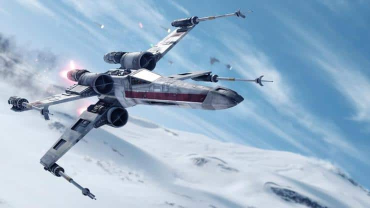 x wing hoth