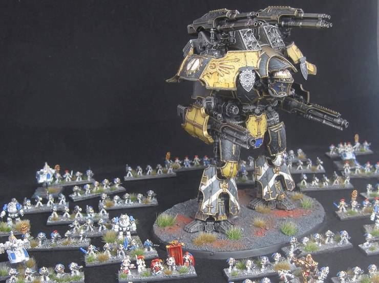 Warhammer Wishlisting: Epic 40k 3D Goodies Spotted! - Spikey Bits