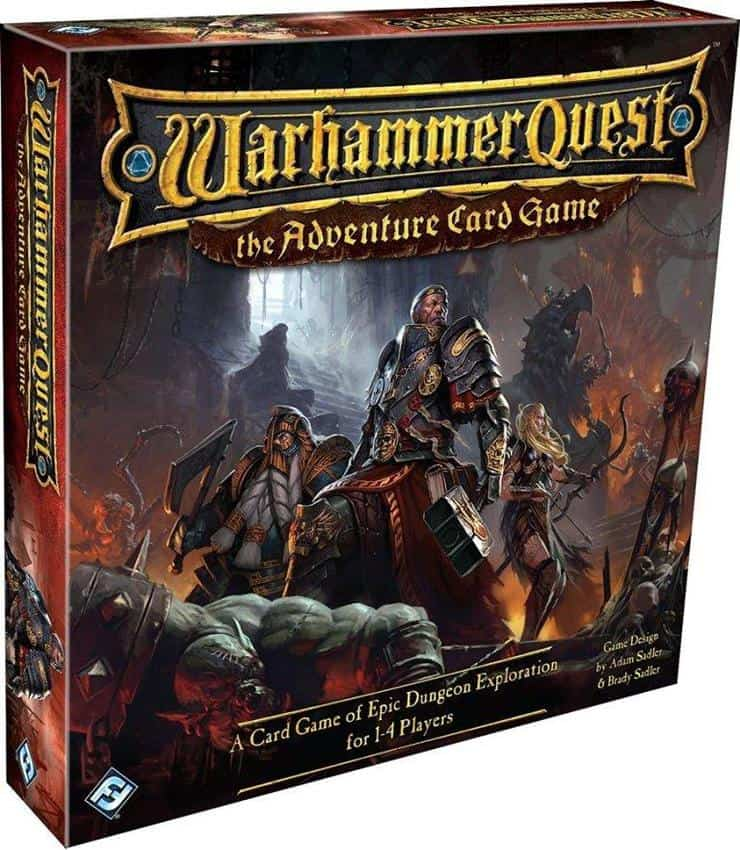 Get Warhammer Quest Card Game For Cheap Spikey Bits