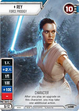 Star Wars Destiny Rey