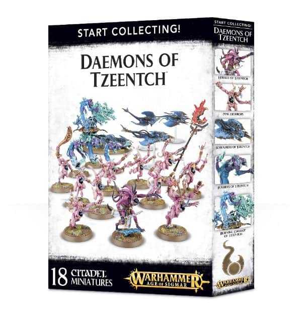 Start Collecting Daemons Tzeentch