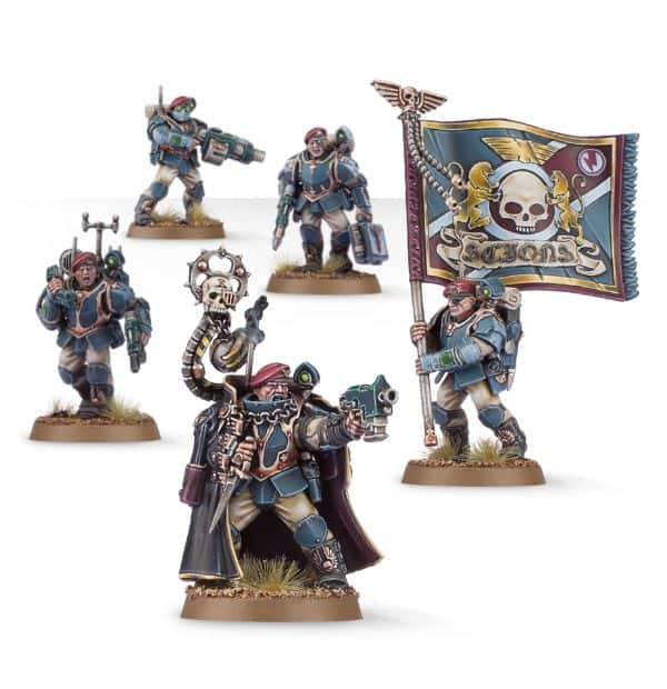 Tempestus Scions Command