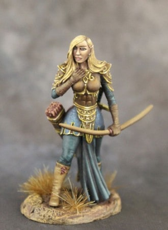 FEMALE ELVEN ARCHER dark sword