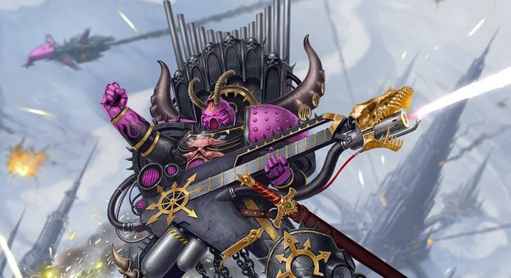 Are Noise Marines The Metal Heads of 40k? - LORE - Spikey Bits