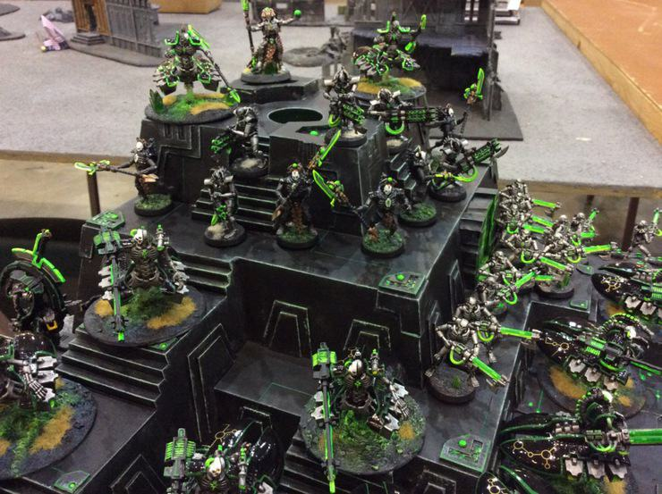 Necron Rise From Their Tomb World