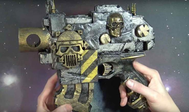 Iron Warriors Pistol