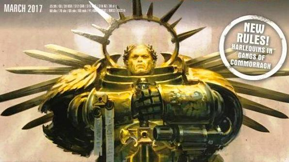 March White Dwarf Cover March White Dwarf Cover guilliman