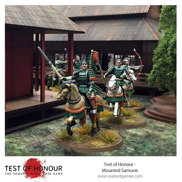 WARLORD GAMES The Samurai Game; 28 mm Test Of Honour