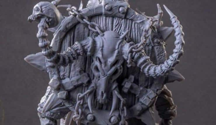 Orc and Goblin Miniatures: The Gods of War