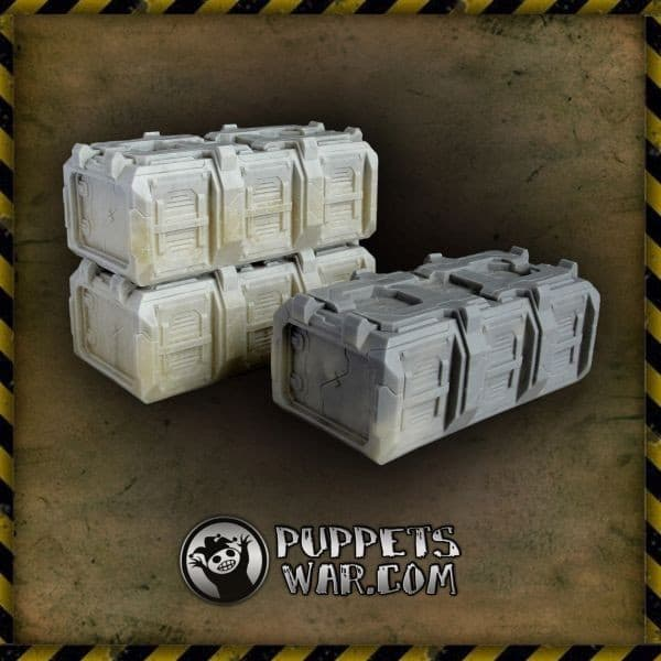 CONTAINERS MKII SET puppetswar