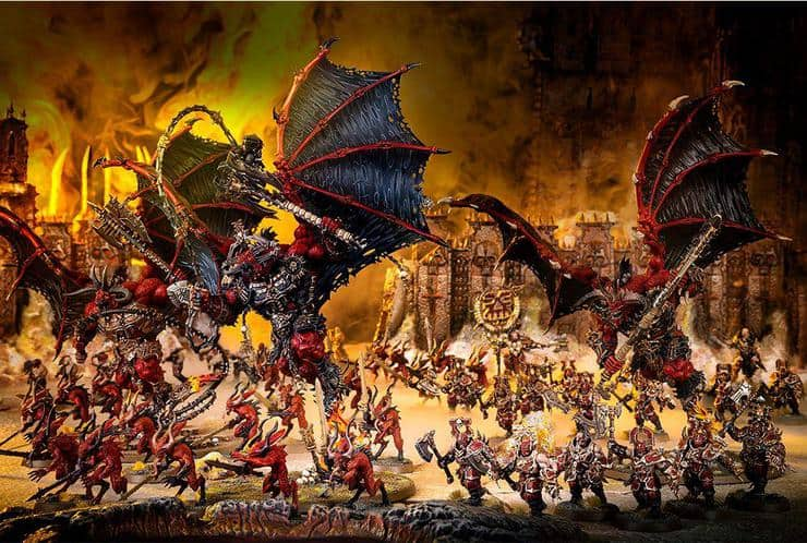 Blades Of Khorne Army Content