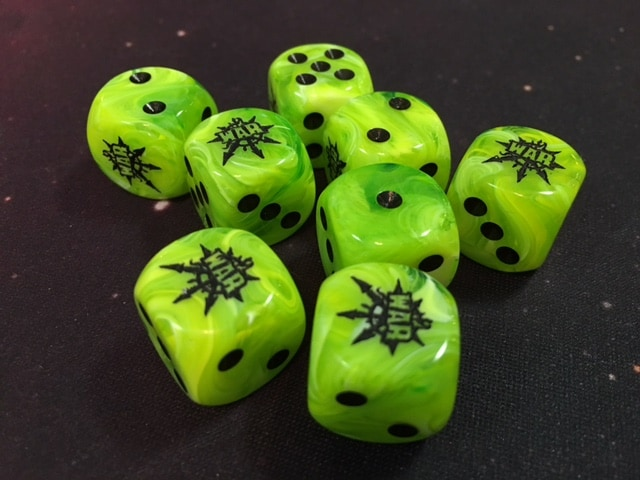 Long War dice Green
