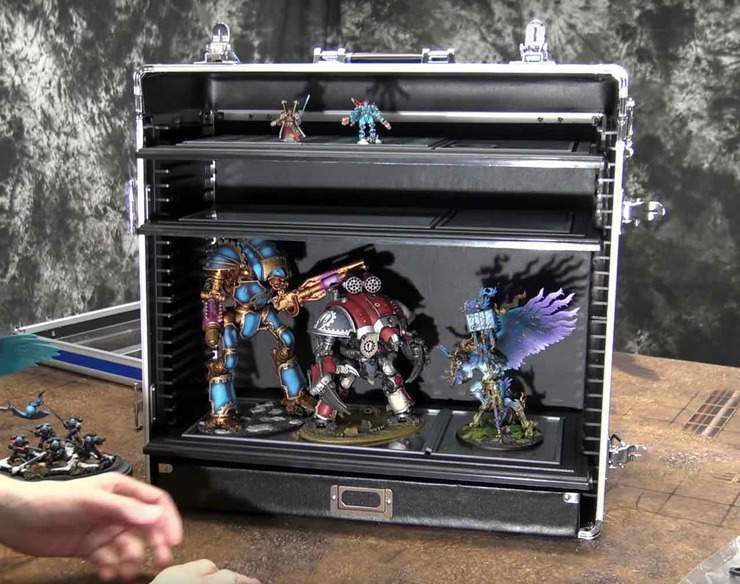 Laden case & Store Your Models Smarter - Tablewar Case Review - Spikey Bits
