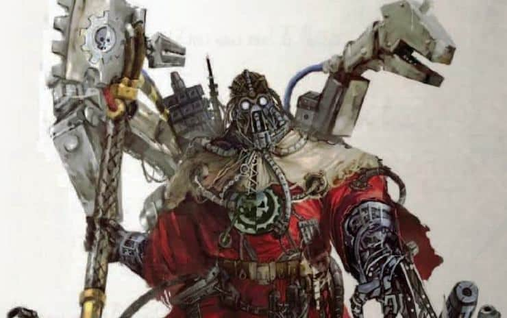 Magos Explorator Tech Priest