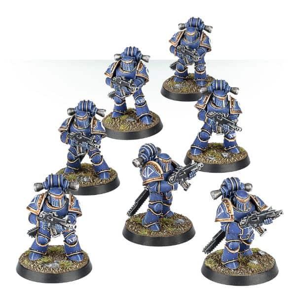 bits 14 Space Marine Horus Heresy MK III Heads