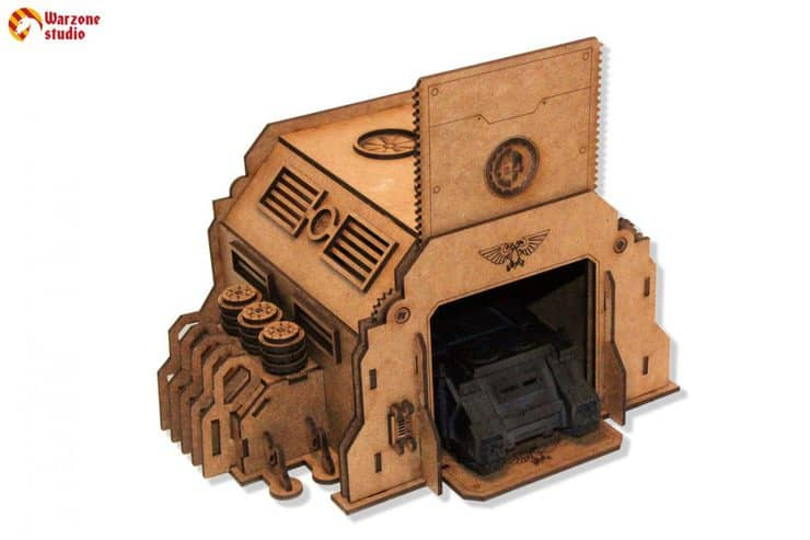 New Wargaming Terrain For Your Tabletop Industrial Zone