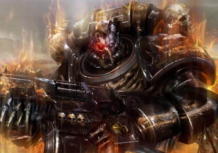 legion of the damned space marines wal hor