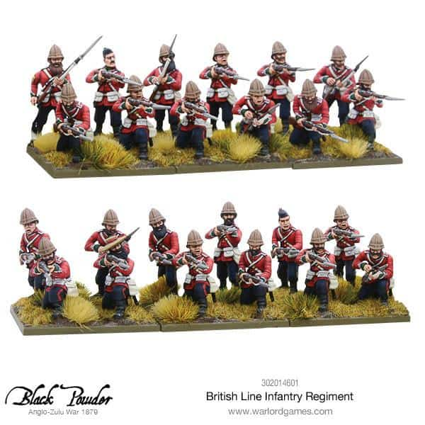 Two Newly Reboxed Zulu Factions Arrive For Black Powder