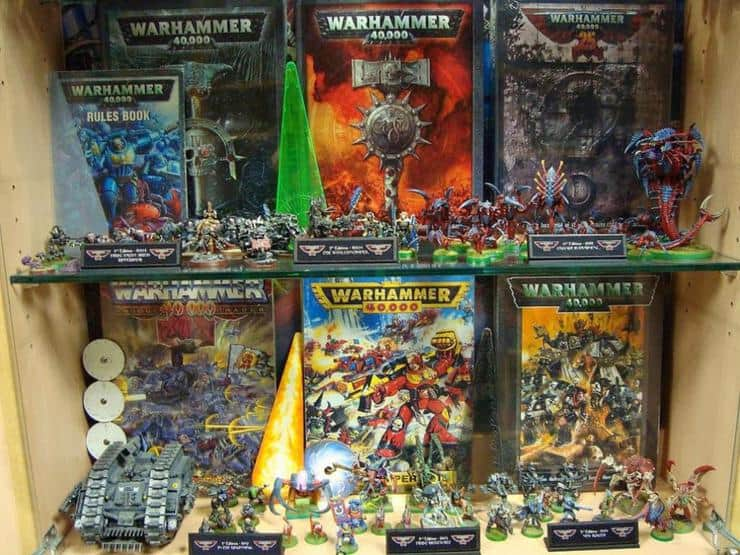 40k editions through the years