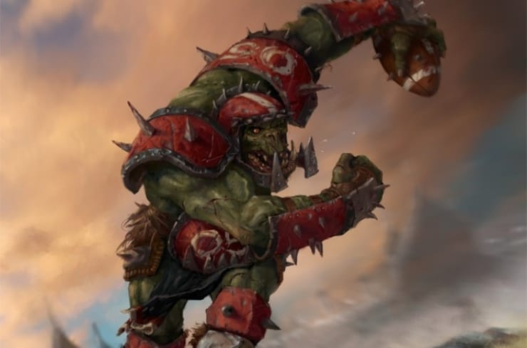 Blood Bowl Orc Wal Horz