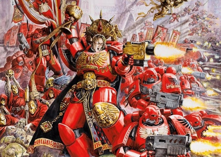 Blood angels battle