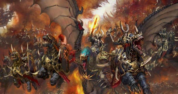 Chaos Everchosen Archaon Wal Horz