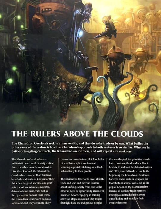Kaharadron Overlords Battletome Intro