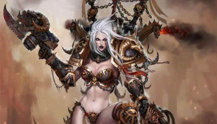 Lady Chaos Wal Hor