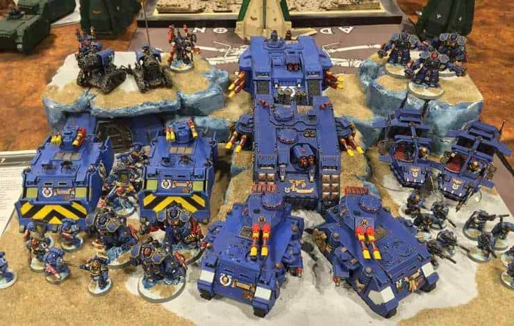 Ultramarines Army Amazing OG Styl...