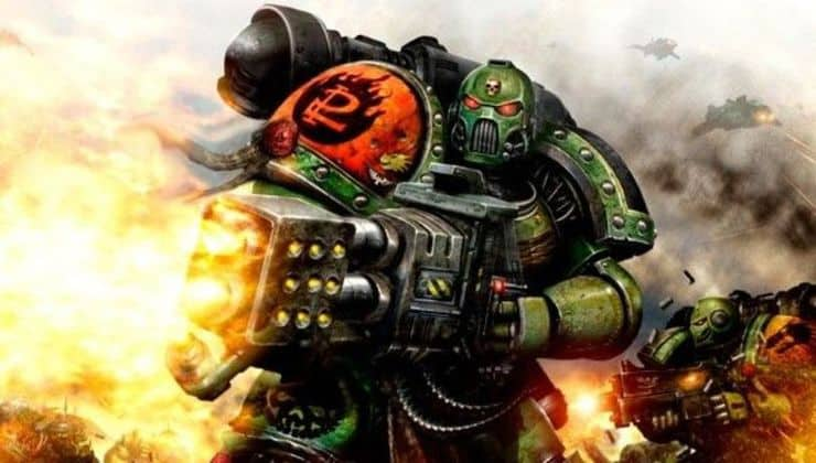 Space Marine Flamer Wal Hor