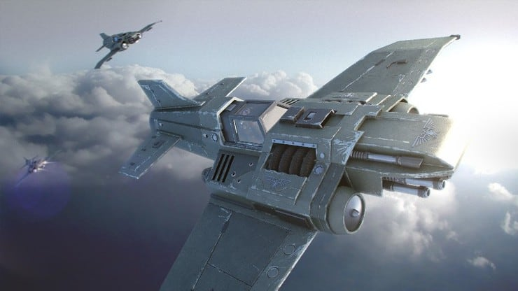 Thunderbolt New Aeronautica Imperialis Appears In The Skies From GW